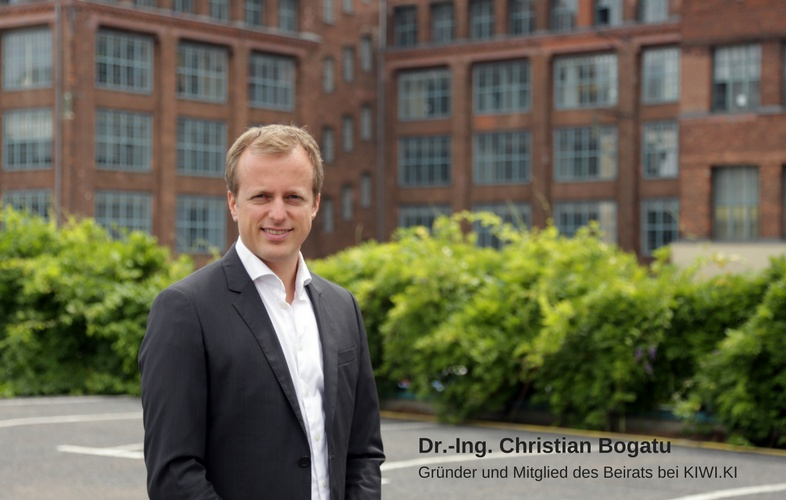 Dr.-Ing. Christian Bogatu von KIWI.KI